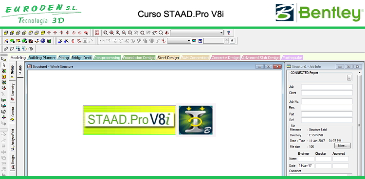 Curso Staad.Pro