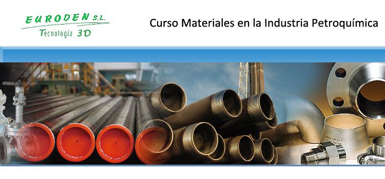 Curso Materiales en la Industria Petroquímica