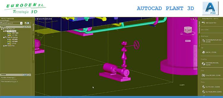 Curso Autocad Plant 3D presencial Madrid